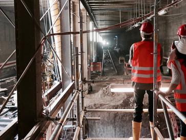 Teilnehmerliste: Baustellenbesichtigung U5 Bahnhof Unter den Linden
