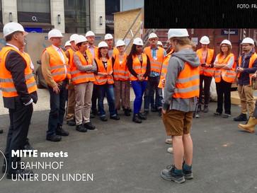 EINLADUNG: Unter den Linden und unter dem Rathaus - U5 Baustellenführung