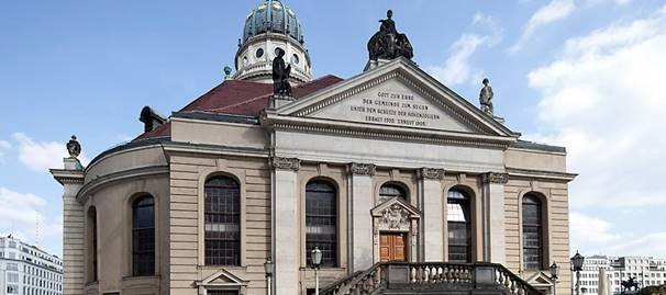 Festakt zur Preisverleihung in der Friedrichstadtkirche