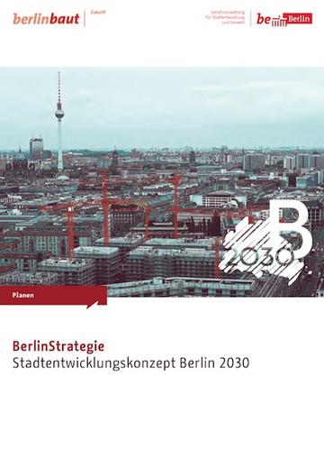 Cover Stadtentwicklungskonzept Berlin 2030