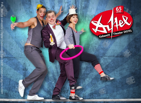 Kabarett Theater DISTEL startet neues Programm Zirkus Angela