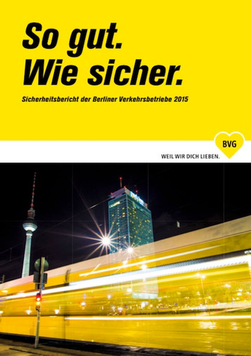 Cover BVG Bericht