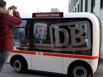Nahverkehr der Zukunft BVG testet fahrerlose Minibusse