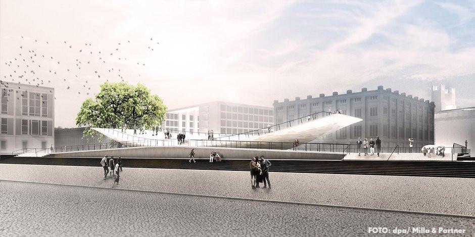 Einheitsdenkmal - Entwurf Milla & Partner Stuttgart