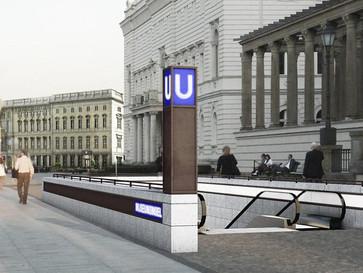 Bauarbeiten an der U5 geraten ins Stocken