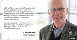 Dr Volker Hassemer