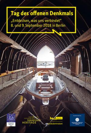 Programmheft Tag des offenen Denkmals Berlin