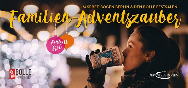 Familien Adventszauber im Spree-Bogen Berlin am 3-12-2017