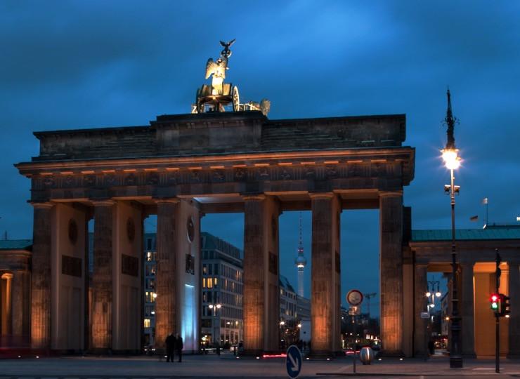 Brandenburger Tor DIE MITTE Symbol