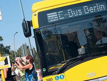 Die Elektro-Busse der BVG fahren weiter