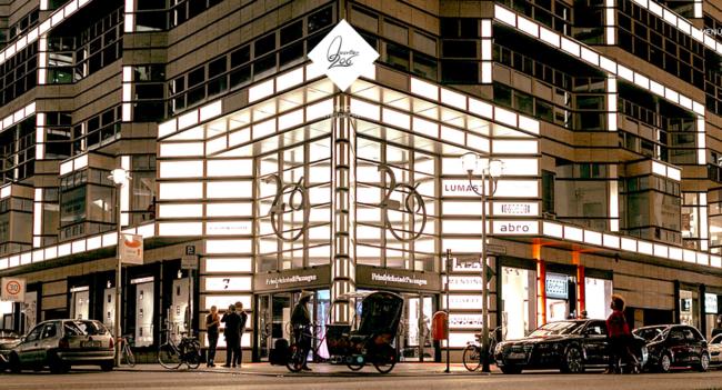 Quartier 206 Art Fashion House Friedrihstrasse DIE MITTE eV Mitglied