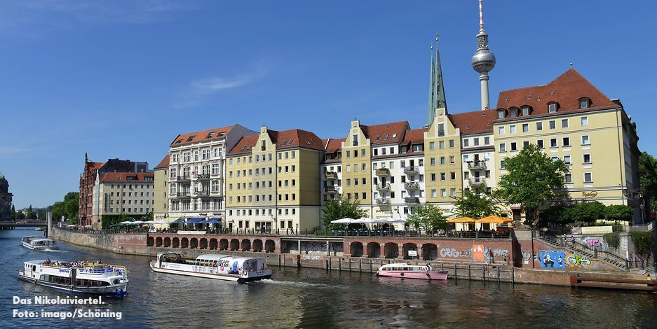 Nikolaiviertel unter Denkmalschutz DIE MITTE eV Berlin