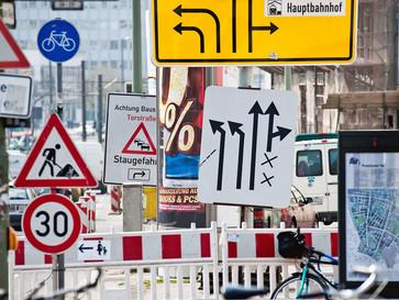 Straßenverkehr - Baustellen Planung