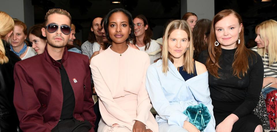 Auch Prominente wie Bill Kaulitz, Sara Nuru, Aino Laberenz und Maria Dragus lieben die Berliner Modewoche Quelle: Getty Images for IMG/Getty Images Europe/Matthias Nareyek