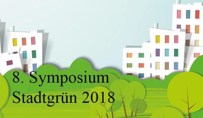 8. Symposium Stadtgrün 2018 Logo - DIE MITTE eV - 360° Berlin