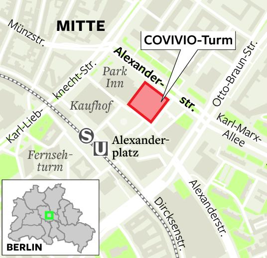 COVIVIO Hochhaus am Alexanderplatz