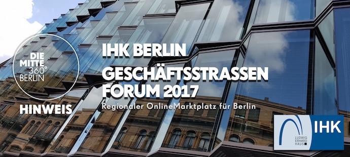 Geschäftsstraßen Forum 2017