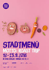 Stadtmenü der Berlin Food Week 2018 DIE MITTE eV