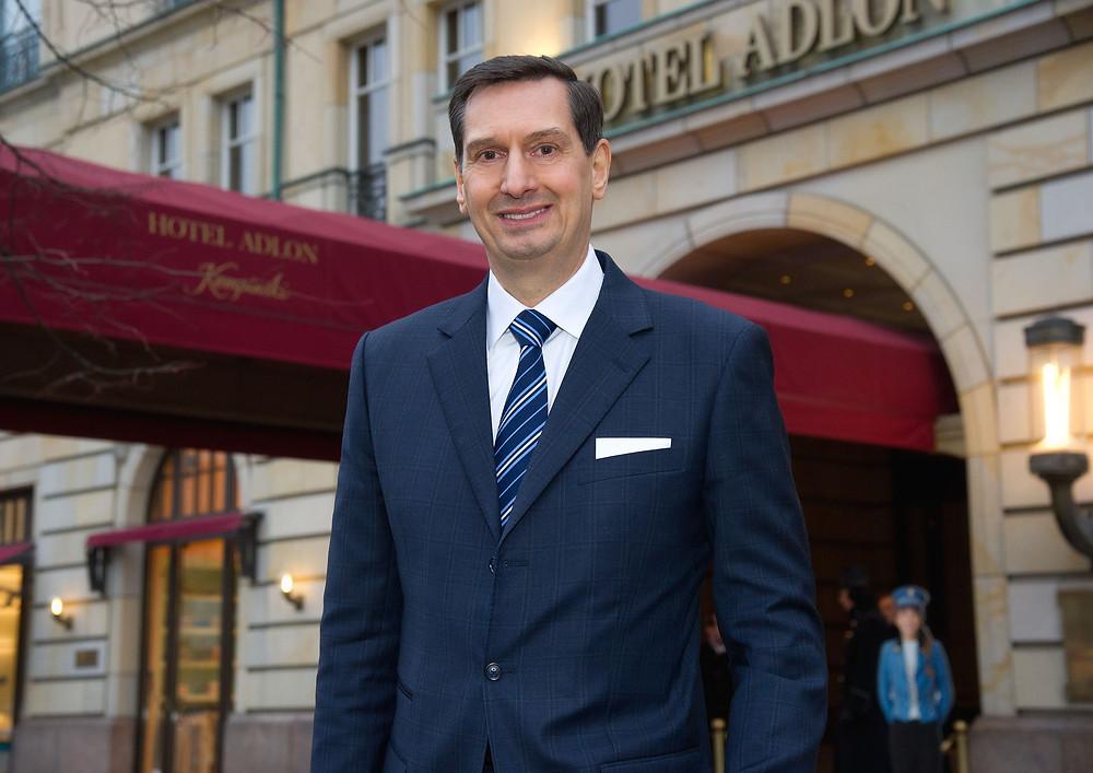 Matthias Al-Amiry, neuer Geschäftsführender Direktor im Hotel Adlon Kempinski Berlin