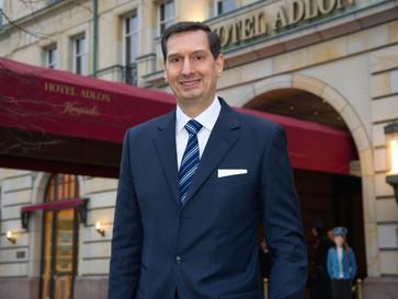 Matthias Al-Amiry ist neuer Geschäftsführender Direktor im Hotel Adlon Kempinski Berlin