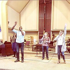 #worshipwednesday >> what song has been