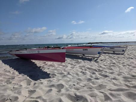 Trainingstag am Strand