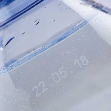 Laser VJ3140 bottle printing