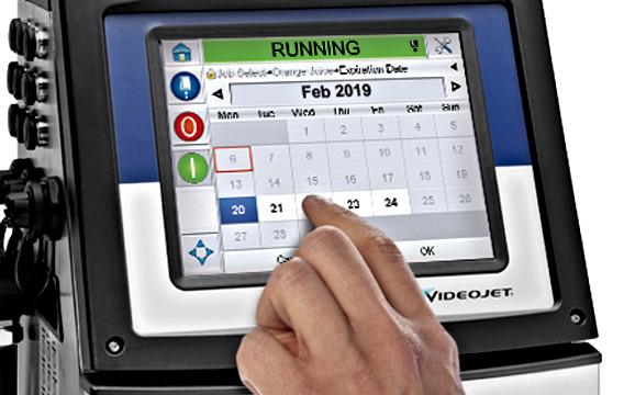 VJ1650 touchscreen display