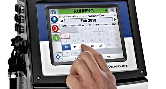 VJ1660 touchscreen