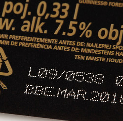 Laser VJ3140 marking