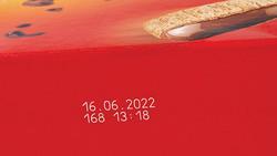 VJ3210 Laser Box Marking