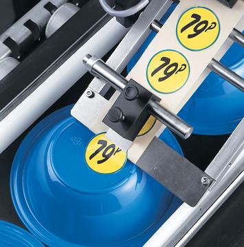 LabelJet 210 sticker