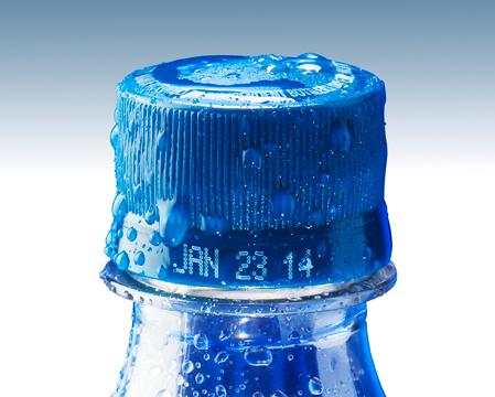 Inkjet VJ1710 bottle cap