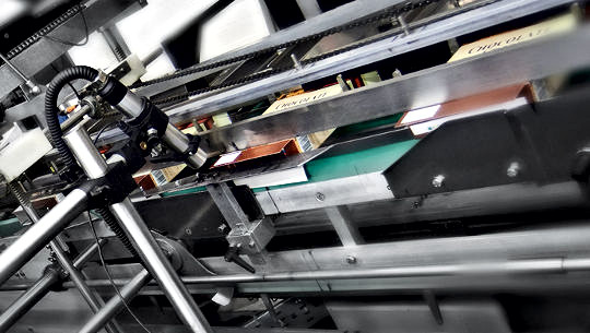 VJ1630 production line