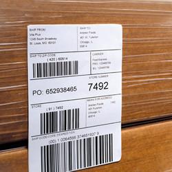 LPA P3400 label printing