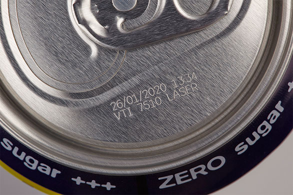 Laser VJ7510 can marking