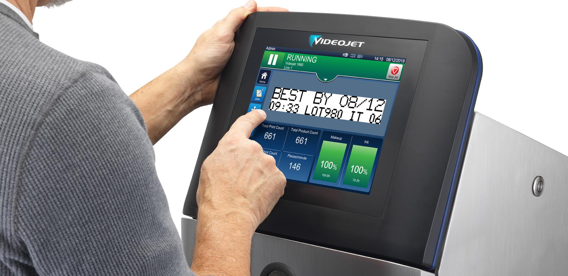 VJ1860 touchscreen display