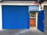 Roller shutter & personel door