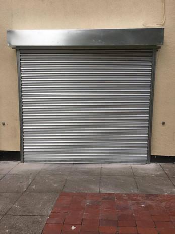 shop front security shutter