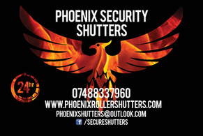 phoenix security shutters logo