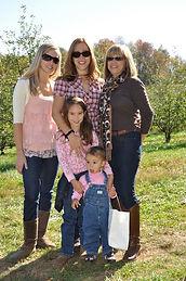 Kristy, Brandy, Darlene and kids Oct 201
