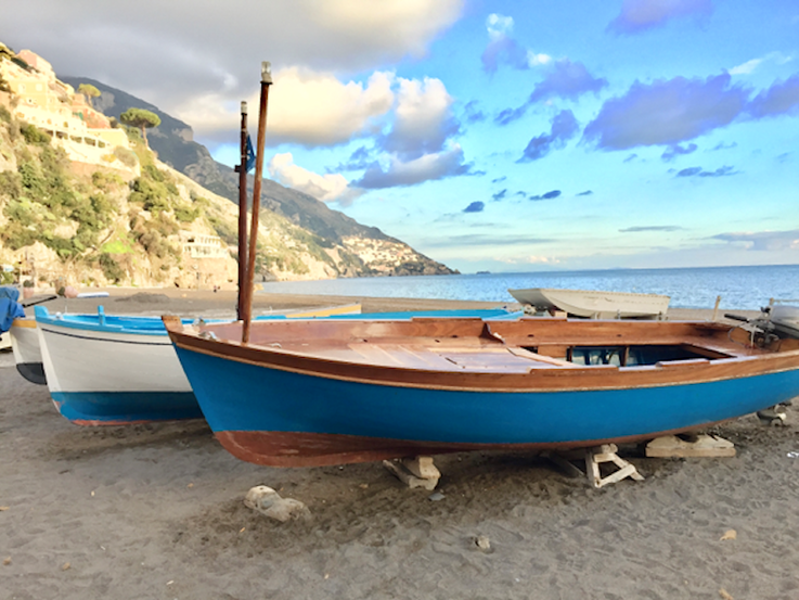 Sailboat in Positano