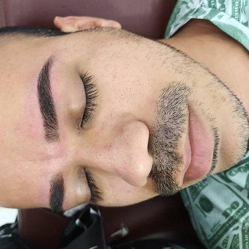 Design de sobrancelha e epilação egípcia