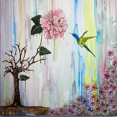 Pinturas e criações artísticas