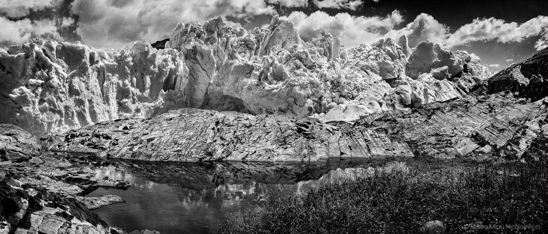 Fin del glaciar