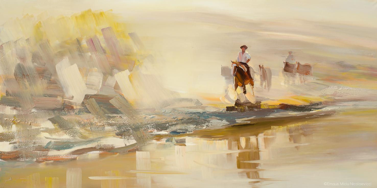 Aridez y rio