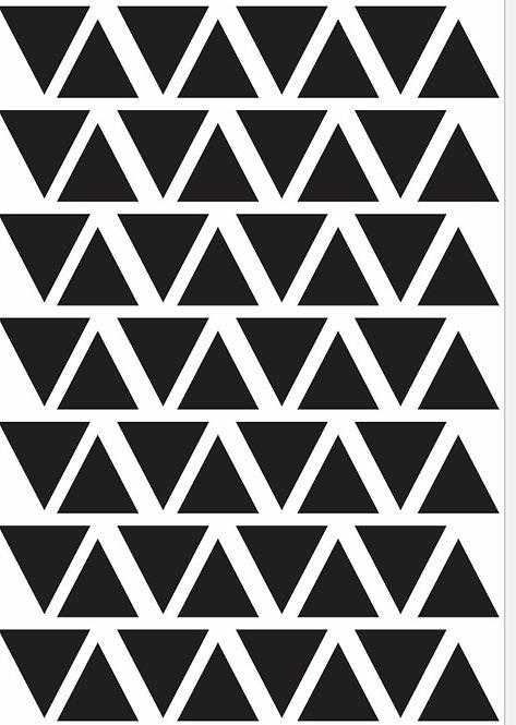 Mini adesivos Triângulo
