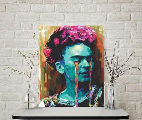 Frida aquarela