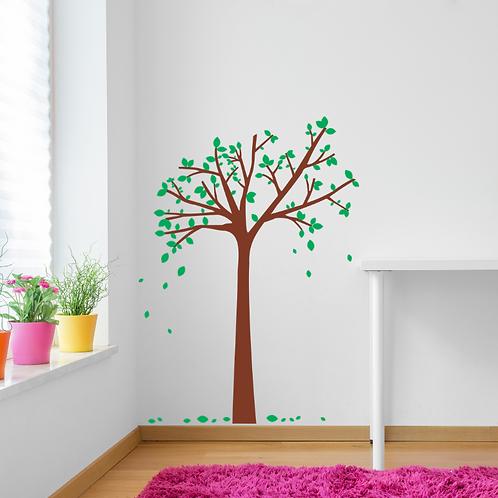 Árvore folhas