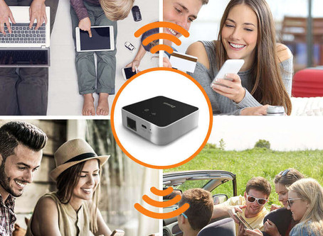 What is a Wi-Fi portable router and how does it work?